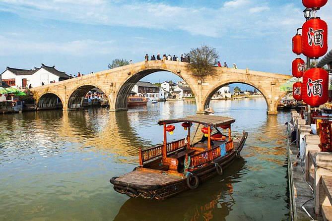 A private full-day tour featuring Qibao Ancient Town and Zhujiajiao Water Town photo 2
