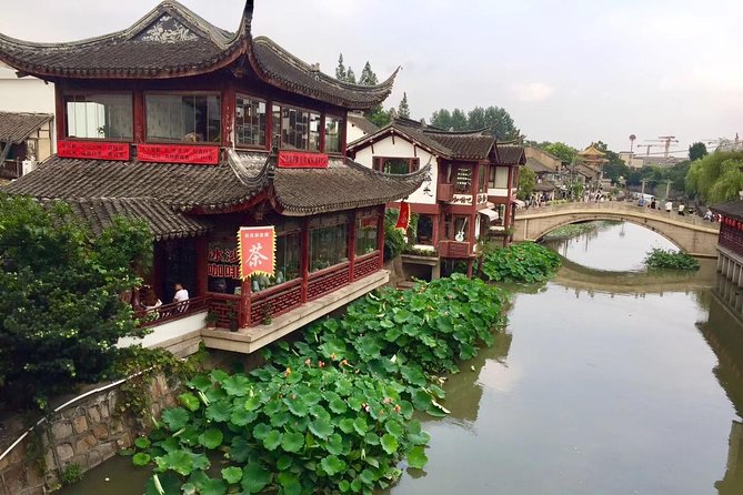 A private full-day tour featuring Qibao Ancient Town and Zhujiajiao Water Town photo 8