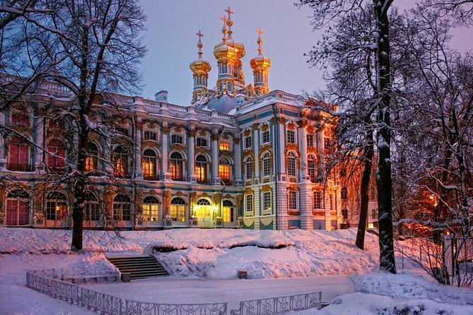 Winter Fairytale in St Petersburg - Peterhof and Catherine Palace