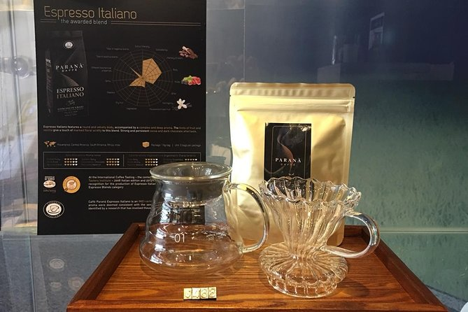 Hand Drip Award Coffee Time-Italy Parana coffee