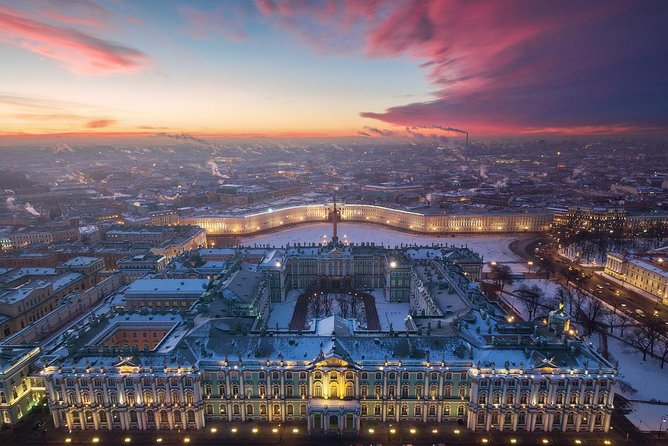 Winter Wonderland in St Petersburg - Hermitage & Catherine Palace