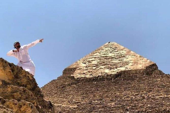 Private day tour to Giza Pyramids, Memphis and Saqqara .