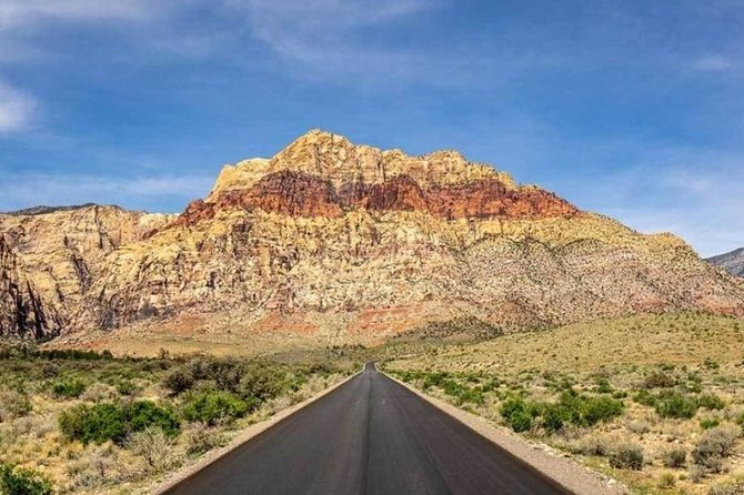 Red Rock Canyon and Seven Magic Mountains Tour with Ghost Town option