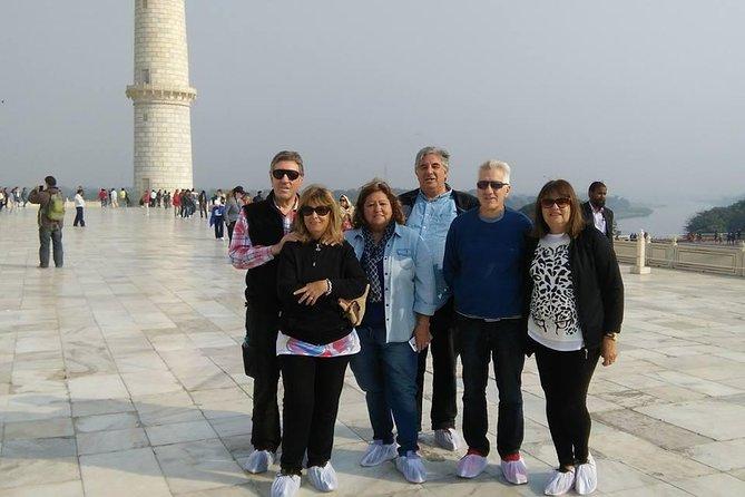 1 Day Delhi & 1 Day Agra Trip with Taj Mahal from Delhi - All Inclusive
