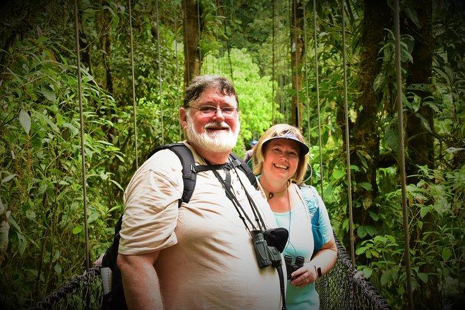Hanging Bridges-Volcano Walk with Night Tour