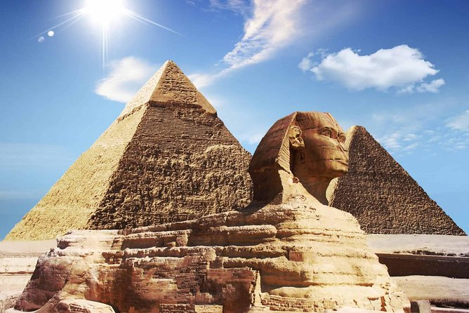 Cairo Over day Full Day ( Pyramids & Egyptian Museum & Sphinx ) - Hurghada