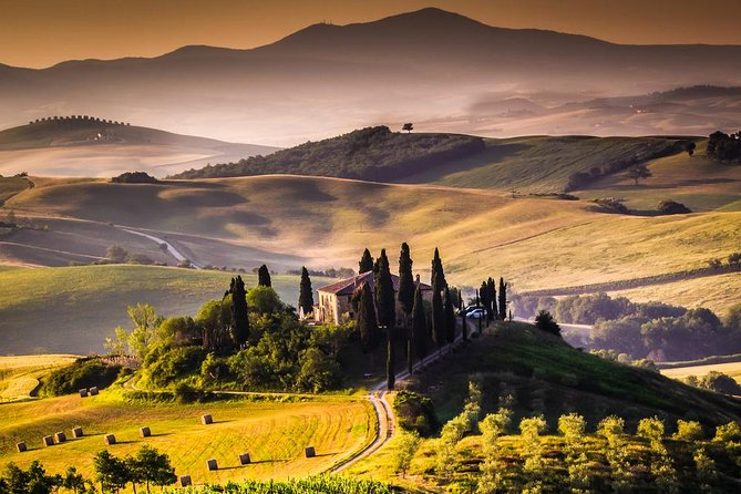 Art/Culture/Wine and food of Tuscany:12h private tour (hotel pick up/drop off)