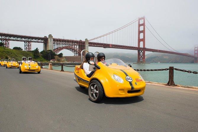 2HR Golden Gate Bridge and Lombard Loop GoCar Tour