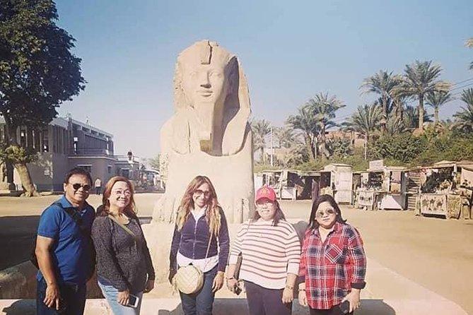 Private Tour Giza Pyramids Sphinx Memphis and Saqqara