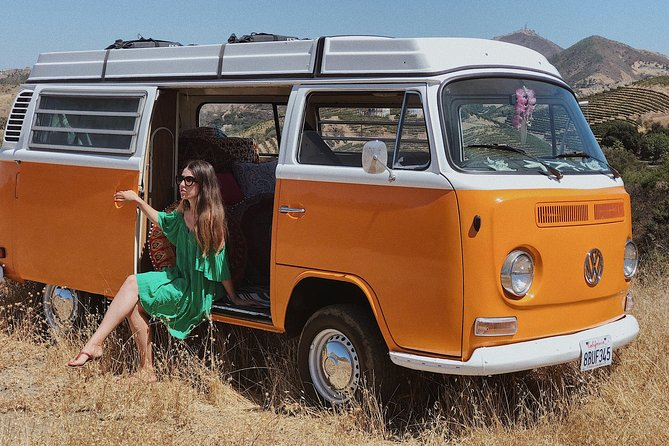 Vintage VW Hippie Tour to Malibu with wine tasting