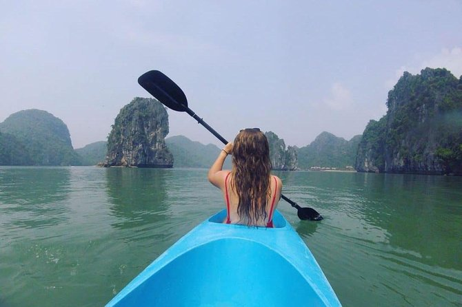 Halong Emotion Bay Full day Tour Cruise 6 hours, early check in bay at 10am
