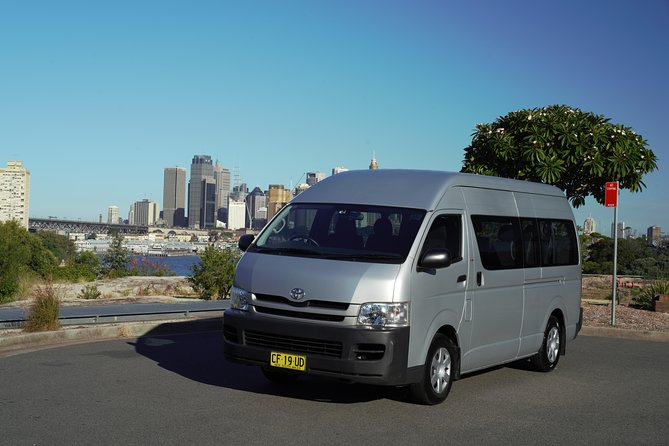 Sydney Arrival Transfer: Airport to City or Overseas Passenger Terminal