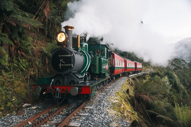 West Coast Wilderness Railway: Queenstown Explorer from Strahan photo 7