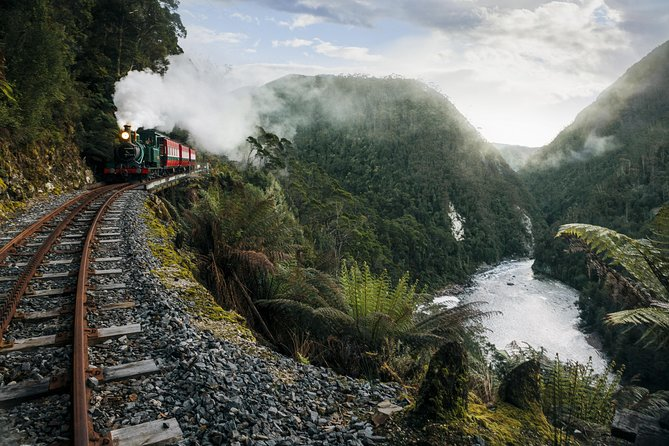 West Coast Wilderness Railway: Queenstown Explorer from Strahan photo 3