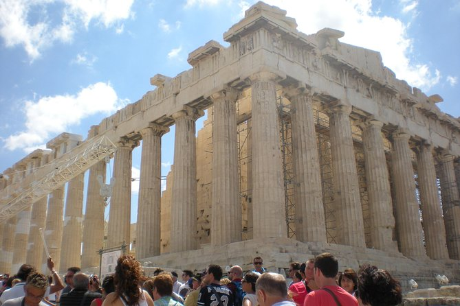 Athens Private Full Day Tour (up to 15 in a luxurious Mercedes Minibus)