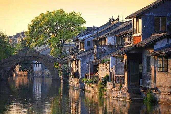 Fengjing Ancient Water Town Private Tour from Shanghai with Boat Ride photo 1