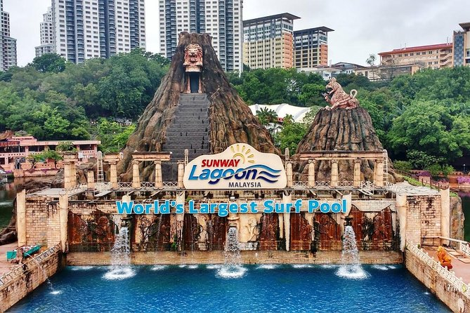 Sunway Lagoon One-Day Admission Tickets Including Transfer
