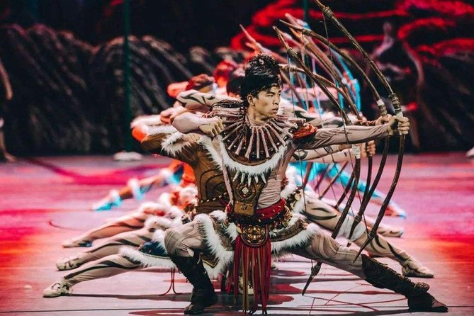 Yinchuan Acrobatic Show Tickets with Round Trip Private Transfer photo 1