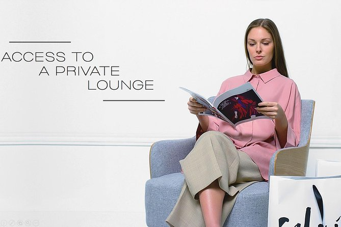 VIP Shopping Experience with Lounge Access, Lunch and Transfer, Paris, FRANCIA
