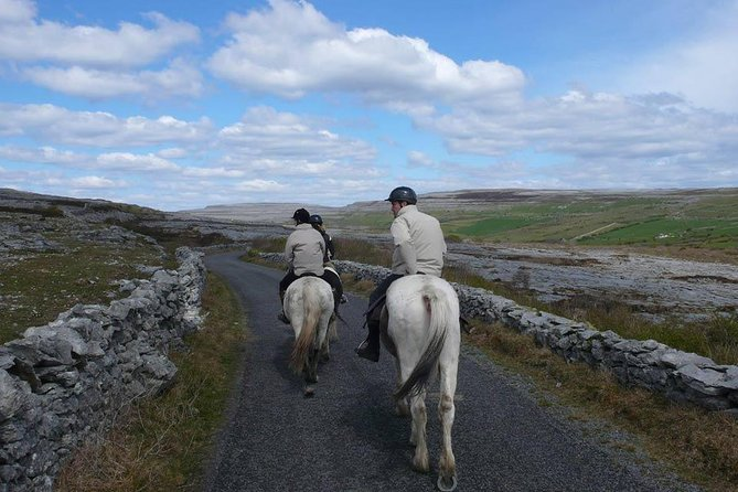 Horse riding - Burren Trail. Lisdoonvarna, Co Clare. Guided. 3 or 4 hour options