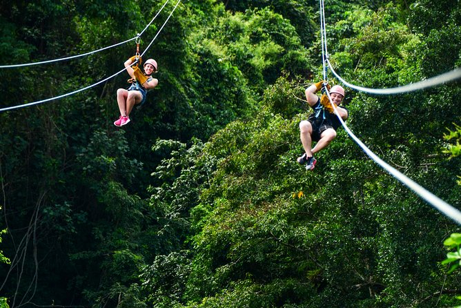Dominican Zipline Adventure from Punta Cana