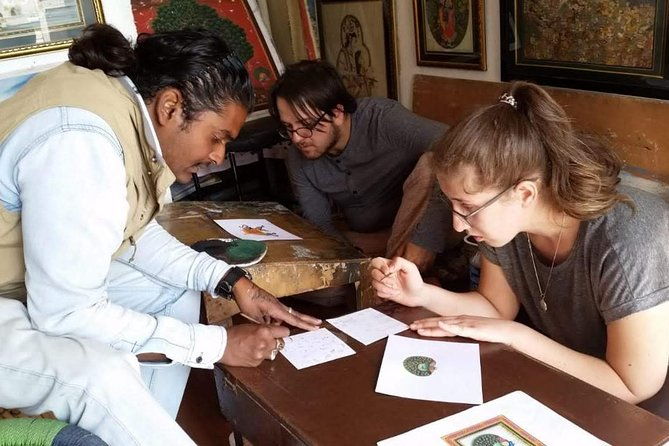 Traditional miniature painting class at Pacific Art