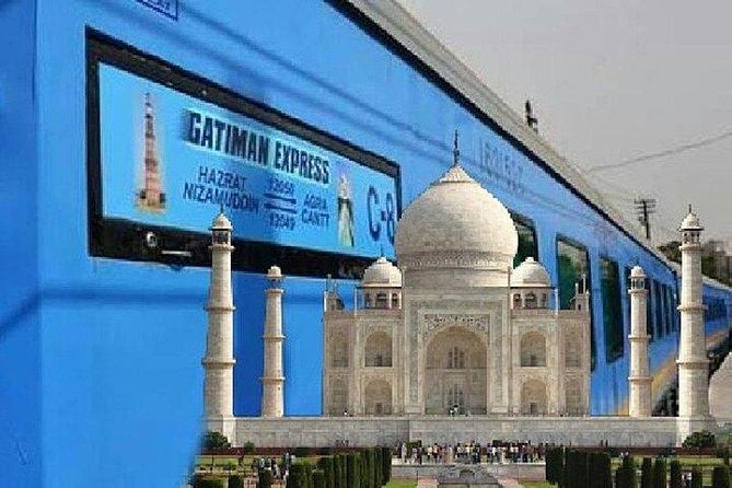 Taj Mahal Tour from Delhi by Super Fast Train - All Inclusive.
