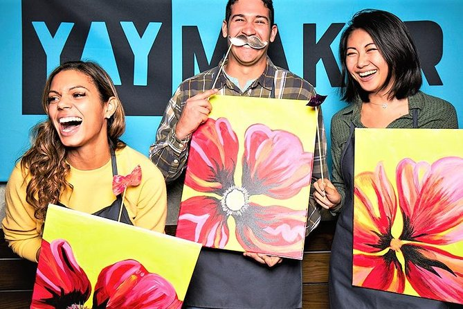 The Original Paint Nite Los Angeles van Yaymaker