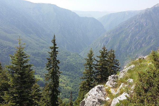 Moraca, Tara & Piva canyons with Durmitor national park