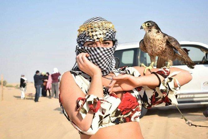 Dubai Desert Safari, BBQ, Camel Ride & Sandboarding
