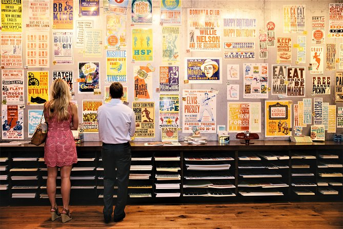 Hatch Show Print Guided Studio Tour with Souvenir Poster photo 10