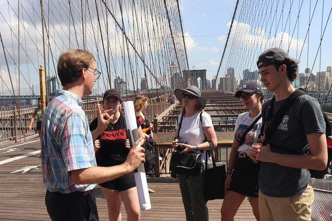 Brooklyn Bridge Tour, with yelling