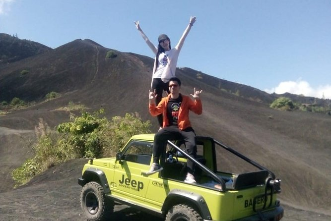 black lava with jeep adventure on mount batur