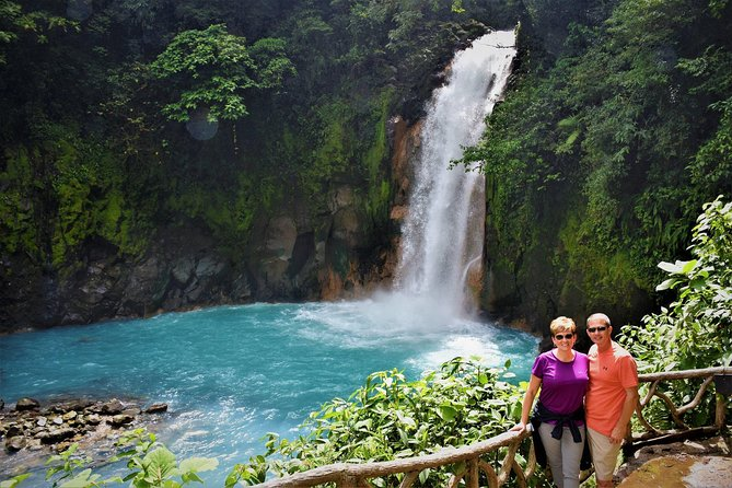 Rio Celeste Waterfall -Tenorio Volcano National Park with Swimming at the River