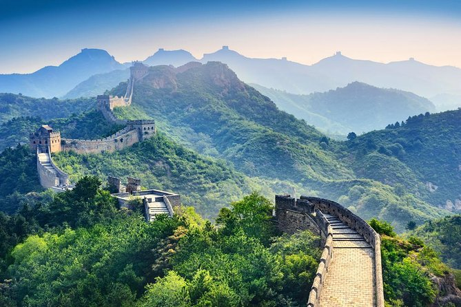 Simatai Great Wall and Gubei Water Town from Beijing