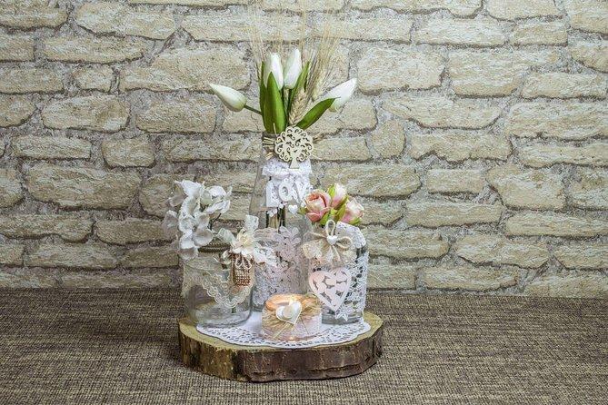Create your own Apulian handmade centerpiece