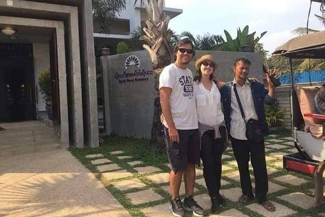 Private Arrival Transfer: Siem Reap Airport to Hotel by Tuk Tuk
