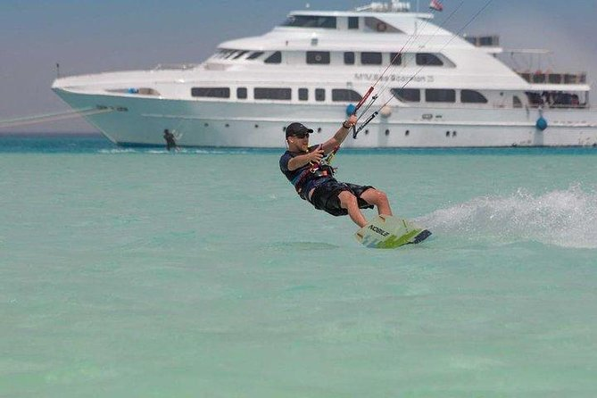 Kitesurfing for 6 hours - Ready to fly - Hurghada