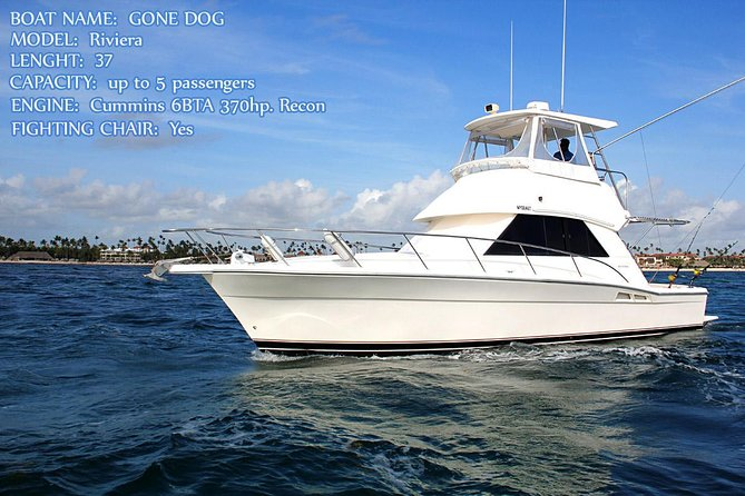 Offshore Deep Sea Fishing Charters. Awesome boat GONE DOG 37' affordable price!