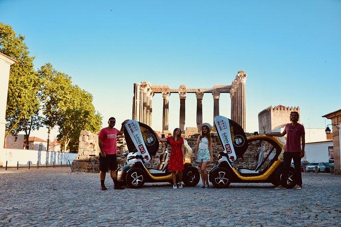 Evora Historic Center: Self-Drive Private City Tour in E-cars