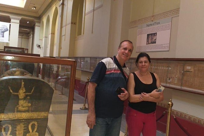 Full DAY TOUR TO GIZA PYRAMIDS WITH CAMEL RIDE AND EGYPTIAN MUSEUM IN CAIRO photo 8