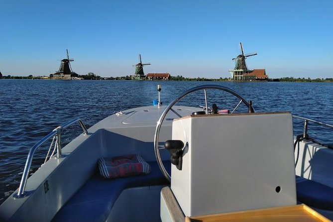 Private Tour: Zaan River Cruise Including 3-Course Dinner from Amsterdam
