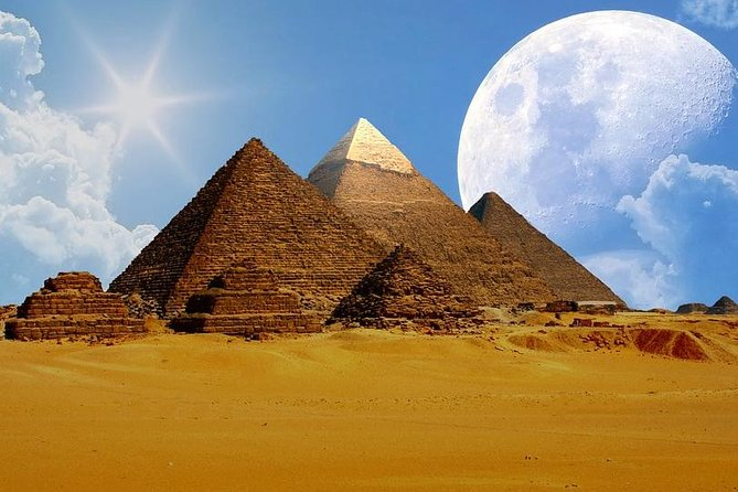 The Great Pyramids half day tour