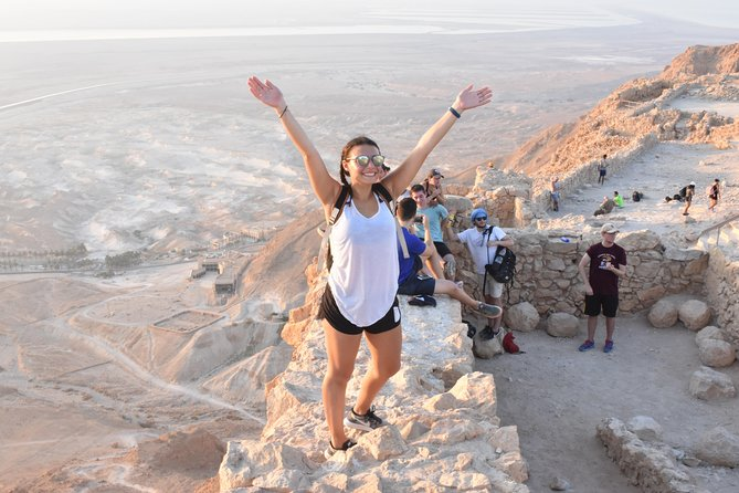 Masada, Ein Gedi and The Dead Sea from Jerusalem