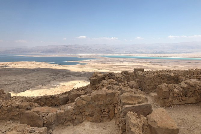 Masada, Ein Gedi and The Dead Sea from Jerusalem