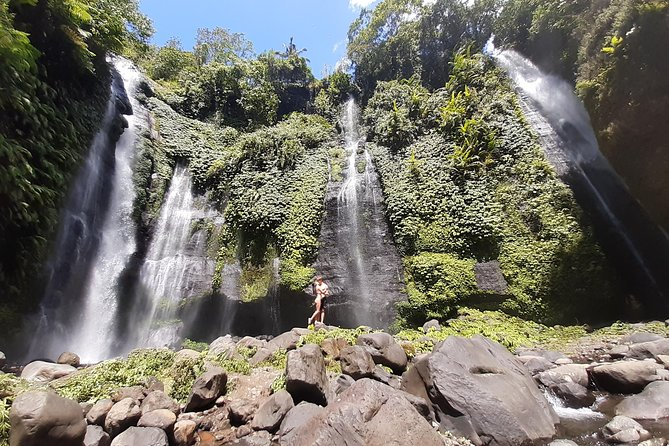 Bali fun waterfall trekking