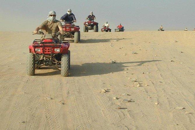 3 hours safari afternoon with the ATV Quad - Marsa Alam German