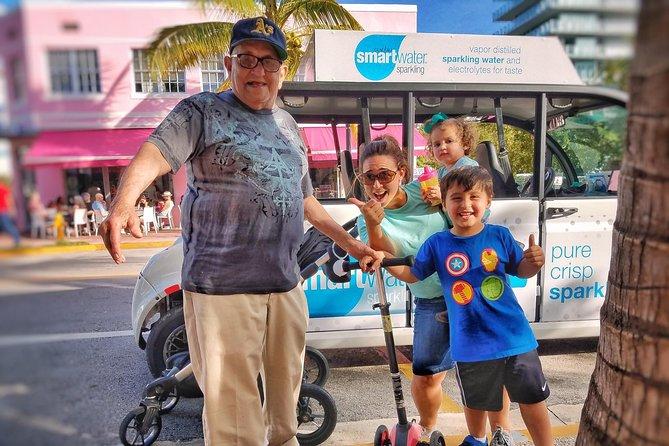 Discover South Beach Golf Cart Tour