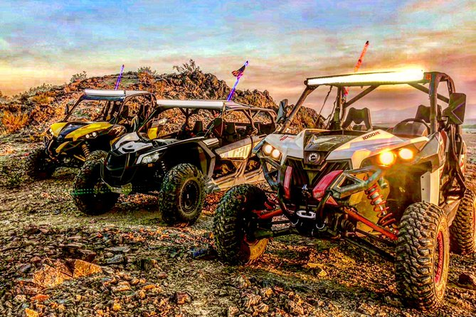 28-Mile Jackrabbit Tour for 4 with Can-Am Maverick 1000 x3 Max Turbo (4-seater)