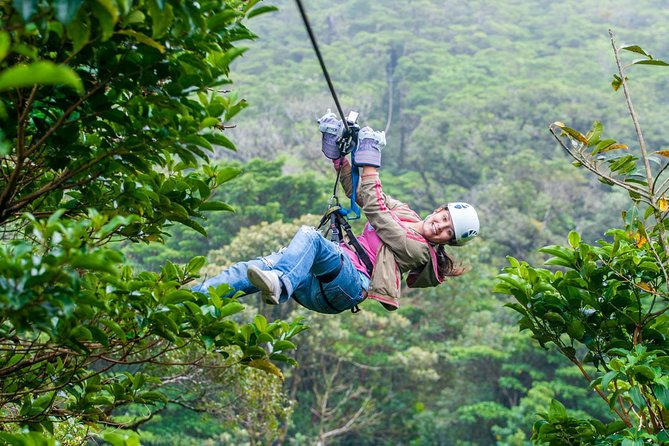 Sky Adventures Arenal :ziplines And Sky Tram (with Transportation)